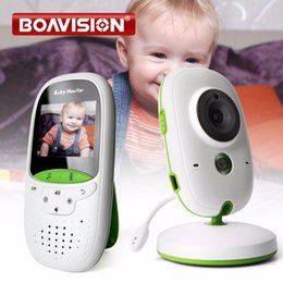 China 2.0 Inch Wireless Baby Monitor IR Night Vision Temperature Monitor Lullabies Intercom VOX Mode Video Security Camera VB602 cheap color security camera night vision suppliers