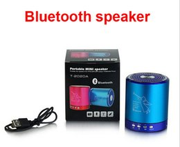 Iphone Stereo Player Canada - T2020A Wireless Bluetooth Speaker Angel USB TF Card Stereo MP3 Player Metal Material With Mic,Handsfree for iphone 6s samsung htc