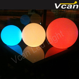 Magic Floating Canada - 8PCS dia20cm FAST Free Shipping waterproof rgb magic color change outdoor floating led ball light for swimming pool