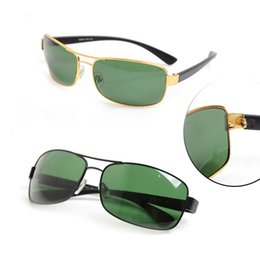 Chinese  10PCS High quality Brand sunglasses black Frame Green Lens glasses Classic mens womens Sunglasses 3379 Sun glasses With Package Box manufacturers
