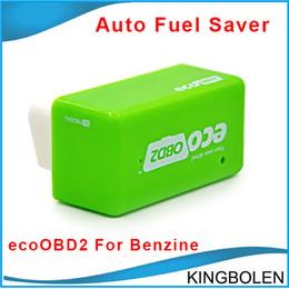 bmw ecu chips 2019 - Wholesale EcoOBD2 Economy Chip Tuning Box OBD Car Fuel Saver for Benzine Gasoline Cars Fuel Saving 15% DHL Free Shipping