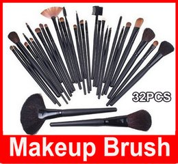 Hair cases online shopping - M Cosmetic Facial Make up Brush Kit Professional Wool Makeup Brushes Tools Set with Black pu Leather Case