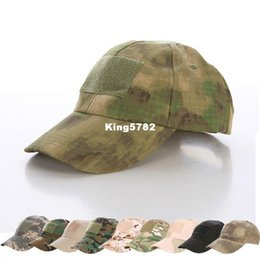 army cadet caps Canada - Hiking male hat Summer camping man's Camouflage Tactical hat army Fishing bionic Baseball cadet Military cap