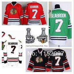 $enCountryForm.capitalKeyWord Australia - 2014 New Style Brent Seabrook Jersey #7 Chicago Blackhawks Ice Hockey Jerseys Finals Champions Home Road Red White Black Green