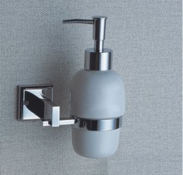 chrome liquid soap dispenser and holder with brass wall mounted copper bathroom shower soap for sale wholesale