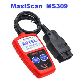 autel maxiscan obd2 Australia - Auto MaxiScan MS309 OBD2 Scanner Diagnostic Tool CAN OBDII Code Reader with Screen MS309 Scanner Fast Shipping