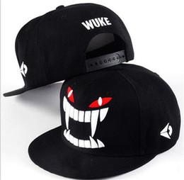 $enCountryForm.capitalKeyWord NZ - WUKE Big teeth south Korean baseball cap hipster hats in hip hop hat J019