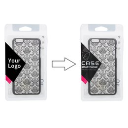 Custom pC Cases online shopping - 100 Custom Logo Micro frosted Packaging Bags for Cell Phone Case for iPhone Plus Zipper Poly Bag