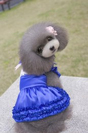 $enCountryForm.capitalKeyWord NZ - HOT SALE!! Pet apparel female dresses one pcs a lot dog clothes 3colors for puppy girl dog dresses support wholesale