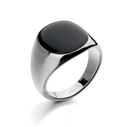 China Men's Rings Italina Rings for Men Gemstone Austria Crystal Silver Plated Fashion Wedding Stainless Steel Rings cheap wholesale fashion bohemian rings suppliers