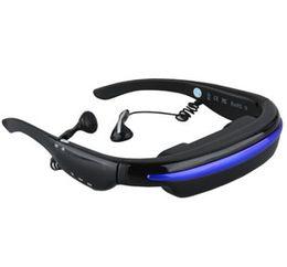 Excelvan VG280 Lunettes vidéo Écran virtuel de 52 pouces Portable 3D stéréo Théâtre personnel Lecteur multimédia Lunettes de cinéma