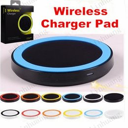 Discount wireless charging for samsung galaxy s5 - S6 Qi Wireless Charger Q5 Cell phone Mini Charge Pad For Qi-abled device Samsung Galaxy S3 S4 S5 S6 Note2 3 4 Nokia HTC