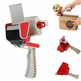"Discount gun boxes - Wholesale- 50mm (2"") Heavy Duty Tape Gun Dispenser Holder Box Parcel Packing Hand Tool"