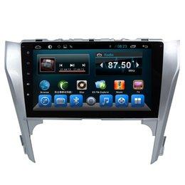 Опт Автомобильный FM-плеер на 2 динара Android Центральная развлекательная система для Toyota Camry 2012 2013 2014 Aisa / Европа с сенсорным экраном GPS BT Автомобильный DVD