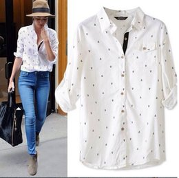Navy Button Down Shirt Women Online | Navy Button Down Shirt Women ...