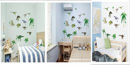 $enCountryForm.capitalKeyWord Canada - Cartoon Animals Wall Art Decal Sticker for Baby Kids Room Nursery Decoration Dinosaur Horse Fairy Butterfly Happy Childhood Wall Mural Decor