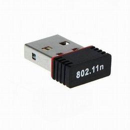 Adaptateur sans fil de haute qualité Mini USB Adaptateur 150Mbps 150M Wifi Carte LAN 802.11n / g / b 2.4GHz