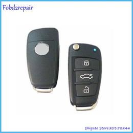 Audi Car Remote Canada - Fobd2repair old Positron remote key for Audi A6 style car alarm remote control for Brazil Positron HCS300 chip BX019A Store: 20158244