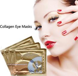 PILATEN Colágeno Máscaras de Ojos de Cristal Anti-envejecimiento Anti-hinchazón Círculo Oscuro Anti-arrugas Ojos de Humedad Cuidado de Las Mujeres Favors Regalos de Cumpleaños MZ001 en venta