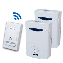 c7d1b2829aa V006B2 Wireless digital Doorbell Home Security Door Bell with Remote control  2 receivers 1 emitter 38 musics DC V006B2 in retail package