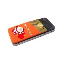$enCountryForm.capitalKeyWord UK - christmas toy, customized logo printing fashion silicone pocket pal Universal 3M Sticky Phone Wallet Silicone Self Adhesive Card Pocket