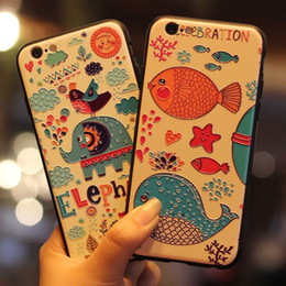 Discount super protective phone cases - ERE-B17   B19 The New Super-embossed For Apple iphone8 Phone Shell Accessories Painted Protective Sleeve