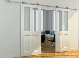 Shop Double Slide Barn Door UK | Double Slide Barn Door free