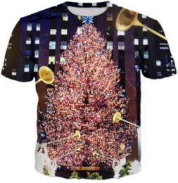 Womans S Clothing Canada - New Fashion Womans Men Short Sleeves Music Christmas Tree Funny 3D Print T-shirt Summer Casual Clothes Top Tees Plus S-5XL K20