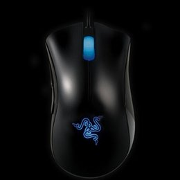 online shopping Razer Death Adder OEM Version Upgraded Gaming mouse dpi Brand New laptop Game mouse Factory Price Blue light wired usb mouse
