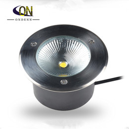 Buried Lamp LED Underground Lamp 10W 15W 20W AC85 265V COB LED Inground  Light IP67 Warm White Cold White LED Underground Light