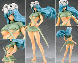 Wholesale Free shipping 21cm Japanese Anime Cartoon Bleach Nelliel Tu Odelschw 1 8 Scale Art Figure For Christmas Gifts