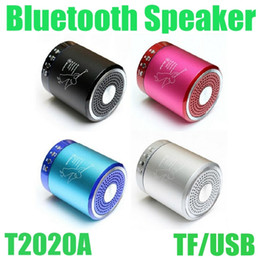 $enCountryForm.capitalKeyWord NZ - Colorful Portable Bluetooth Speaker T2020A Wireless Mini Super Bass Hands Free Speaker Home Outdoor Stereo For MP3 MP4 Free Shipping MIS061