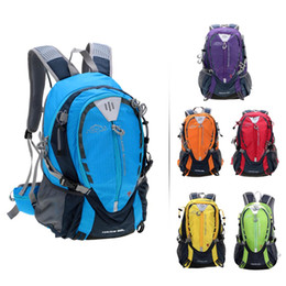 25L Nylon Outdoor Water Resistant Travel Hiking Camping Cycling Rucksack Backpack Shoulder Bag Knapsack