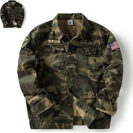 Punk leoPard Print online shopping - Top Super US Army Green Men Jackets Fashion camouflage Autumn Spring Outerwear coats MA pilot Men s Male Punk boy Hiphop Hoodies outwear