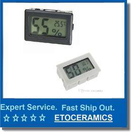 Humidity sensor tHermometer Hygrometer online shopping - Mini Temperature Humidity Meter Digital LCD Thermometer Hygrometer Indoor Without probe Hygrometer Temp Gauge Temperature Meter Monitor