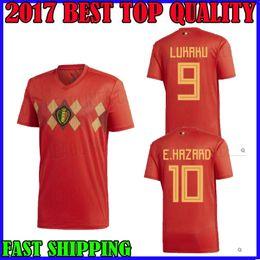 8a29cfa13de ... greece world cup 2018 belgium jersey soccer home red hazard 17 18 lukaku  nainggolan de bruyne