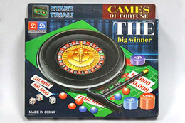 Games Deluxe NZ - The Big Winner Deluxe Russian Spinning Roulette Chips Drinking Game Set Party Supplies Wine Games for Adult Drinken Game Toy