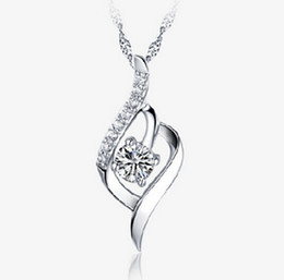 $enCountryForm.capitalKeyWord Canada - New Arrival Austria Crystal Pendant Necklace With 30% 925 sterling silver for Women on Wedding Dress Sets Party