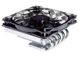 Motherboard Processors UK - Original new ID-COOLING 1 12cm PWM fan 5 heatpipes thin CPU cooler IS-50 for LGA115X 775 & AMD all sockets on ITX motherboards