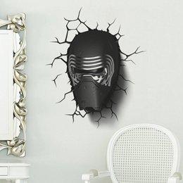 Online Shopping Star Wars Mask Wall Decal Sticker Kids Boys Room Wall Decor  Art Mural Poster