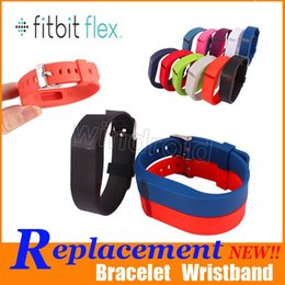 $enCountryForm.capitalKeyWord Canada - Cheapest Fitbit Flex Band With metal Clasp Replacement TPU Wrist Strap Wireless Activity Bracelet Wristband (No Tracker) Opp Package 200pcs