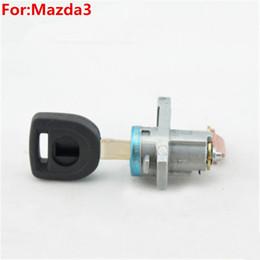 oem left door lock cylinder auto door lock cylinder for mazda3 with 1pcs key m134 door lock key cylinder promotion