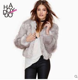 Korean Style Rabbit Fur Coat Suppliers   Best Korean Style Rabbit ...