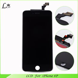 $enCountryForm.capitalKeyWord Canada - Wholesale-LCD Assembly With Original Digitizer Glass No Dead Pixel spare parts mobile phone For  6 plus lcd touch screen
