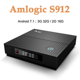 Android smArt mediA plAyer online shopping - TX92 GB GB Android Smart TV Box Amlogic S912 Set Top Box G G Wifi HD Media Player