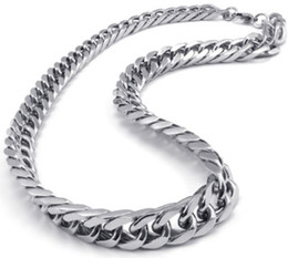 Easter gifts for husband canada best selling easter gifts for asian east indian style 316l stainless steel miami cuban curb chain link necklace in men thanksgiving day jewelry for husband 10mm 24 negle Image collections
