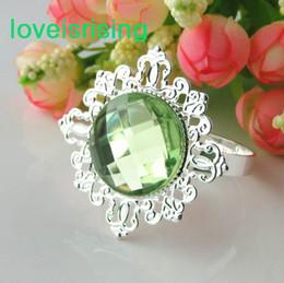 $enCountryForm.capitalKeyWord Canada - Lowest Price--100pcs Light Green Vintage Style Napkin Rings Wedding Bridal Shower Napkin holder-- Free Shipping