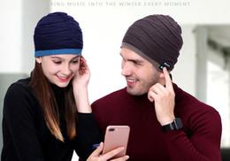 Discount warm audio - Fashional Warm Bluetooth Hat Wireless Speaker Bluetooth Hat Receiver Audio Music Speaker Bluetooth Hat Cap Headset Headp
