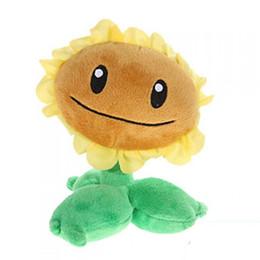 $enCountryForm.capitalKeyWord NZ - Plants VS Zombies Plush Toy Stuffed Animal - Sunflower 16CM 6.3Inch Tall
