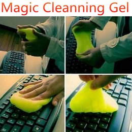 Discount magic clean keyboard cleaner gel - Magic Innovative Super Dust Clean High Tech Keyboard Cleaning Compound Gel Slimy for Keyboard Laptop Compurter